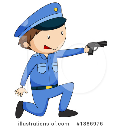 Police Clipart #1366976 by Graphics RF