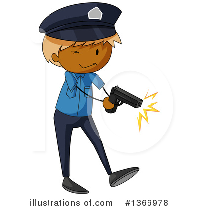 Policeman Clipart #1366978 by Graphics RF