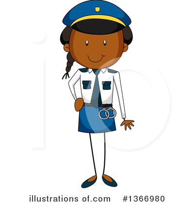 Policeman Clipart #1366980 by Graphics RF
