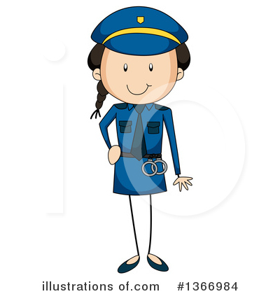 Police Clipart #1366984 by Graphics RF