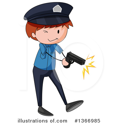 Police Clipart #1366985 by Graphics RF
