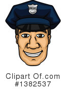Royalty-Free (RF) Police Clipart Illustration #1382537