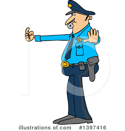 Police Clipart #1397416 by djart