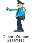 Royalty-Free (RF) Police Clipart Illustration #1397416