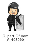 Police Clipart #1403090 by BNP Design Studio