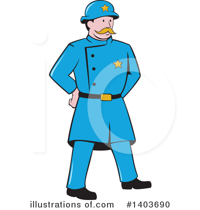 Police Clipart #1403690 by patrimonio
