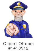 Police Clipart #1418912 by AtStockIllustration