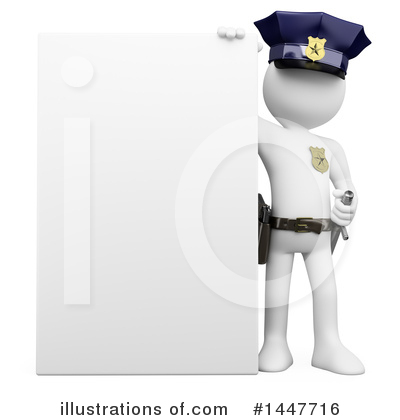 Police Officer Clipart #1447716 by Texelart