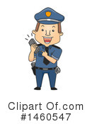 Royalty-Free (RF) Police Clipart Illustration #1460547