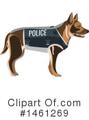 Police Clipart #1461269 by Vector Tradition SM
