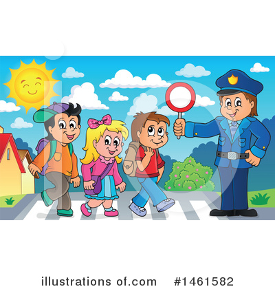 Police Clipart #1461582 by visekart