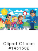 Royalty-Free (RF) Police Clipart Illustration #1461582