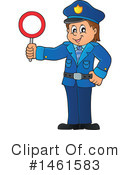 Royalty-Free (RF) Police Clipart Illustration #1461583