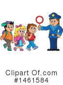 Royalty-Free (RF) Police Clipart Illustration #1461584