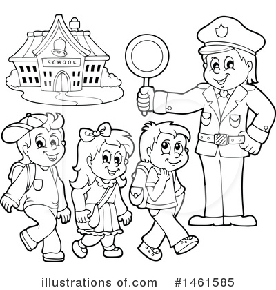 Police Clipart #1461585 by visekart