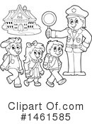 Royalty-Free (RF) Police Clipart Illustration #1461585
