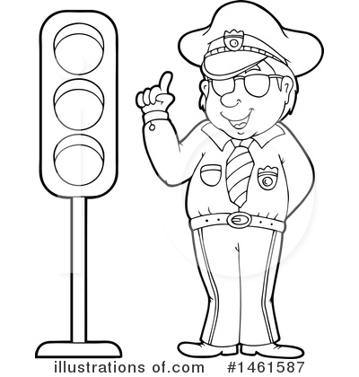 Police Clipart #1461587 by visekart