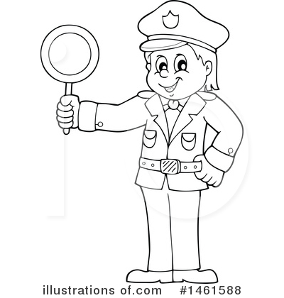 Police Clipart #1461588 by visekart
