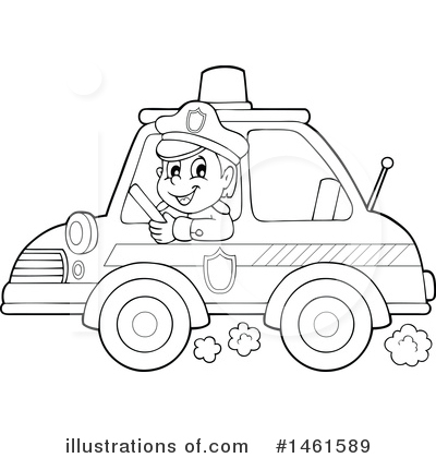 Police Clipart #1461589 by visekart