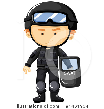 Police Clipart #1461934 by Graphics RF