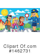 Royalty-Free (RF) Police Clipart Illustration #1462731