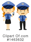 Royalty-Free (RF) Police Clipart Illustration #1463632