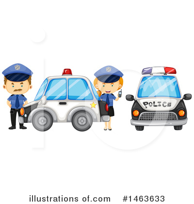 Police Clipart #1463633 by Graphics RF