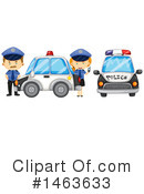 Royalty-Free (RF) Police Clipart Illustration #1463633