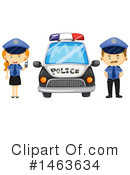 Royalty-Free (RF) Police Clipart Illustration #1463634