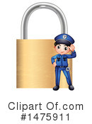 Police Clipart #1475911 by Graphics RF