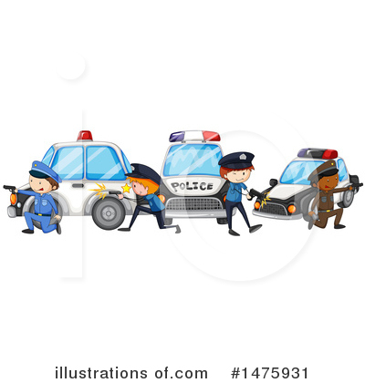 Police Clipart #1475931 by Graphics RF