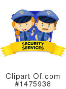 Royalty-Free (RF) Police Clipart Illustration #1475938