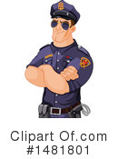 Police Clipart #1481801 by Pushkin