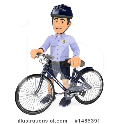 Police Officer Clipart #1485391 by Texelart