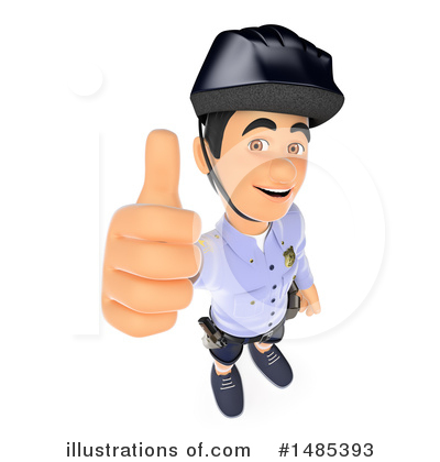 Police Officer Clipart #1485393 by Texelart