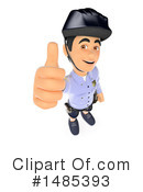 Police Clipart #1485393 by Texelart