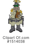 Royalty-Free (RF) Police Clipart Illustration #1514038