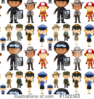 Fireman Clipart #1522363 by Graphics RF