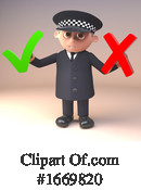 Police Clipart #1669820 by Steve Young