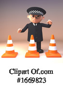 Police Clipart #1669823 by Steve Young