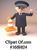 Police Clipart #1669824 by Steve Young