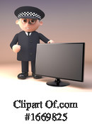 Police Clipart #1669825 by Steve Young