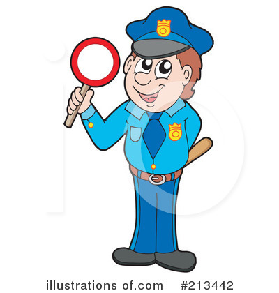 Police Clipart #213442 by visekart