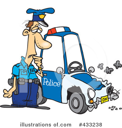 Car Wreck Clipart #433238 by toonaday