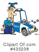 Royalty-Free (RF) Police Clipart Illustration #433238