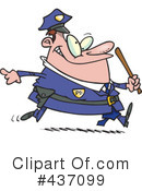 Royalty-Free (RF) Police Clipart Illustration #437099