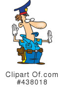 Royalty-Free (RF) Police Clipart Illustration #438018