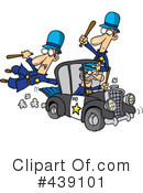 Royalty-Free (RF) Police Clipart Illustration #439101