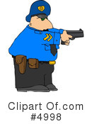 Royalty-Free (RF) police Clipart Illustration #4998