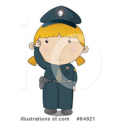 Police Woman Clipart #64921 by YUHAIZAN YUNUS